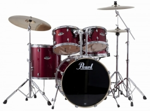 Pearl Export EXX 725 91 (Red Wine) z talerzami Zildijan Planet Z