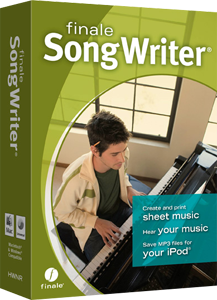 Finale Song Writer 2012
